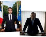 Macron e Underwood: semelhanças?