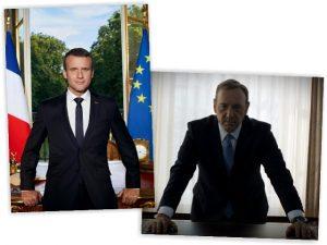 Primeira foto oficial de Emmanuel Macron como presidente está dando o que falar
