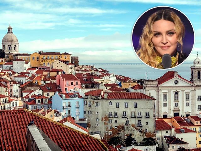 Lisboa, possível novo endereço de Madonna    Créditos: Getty Images