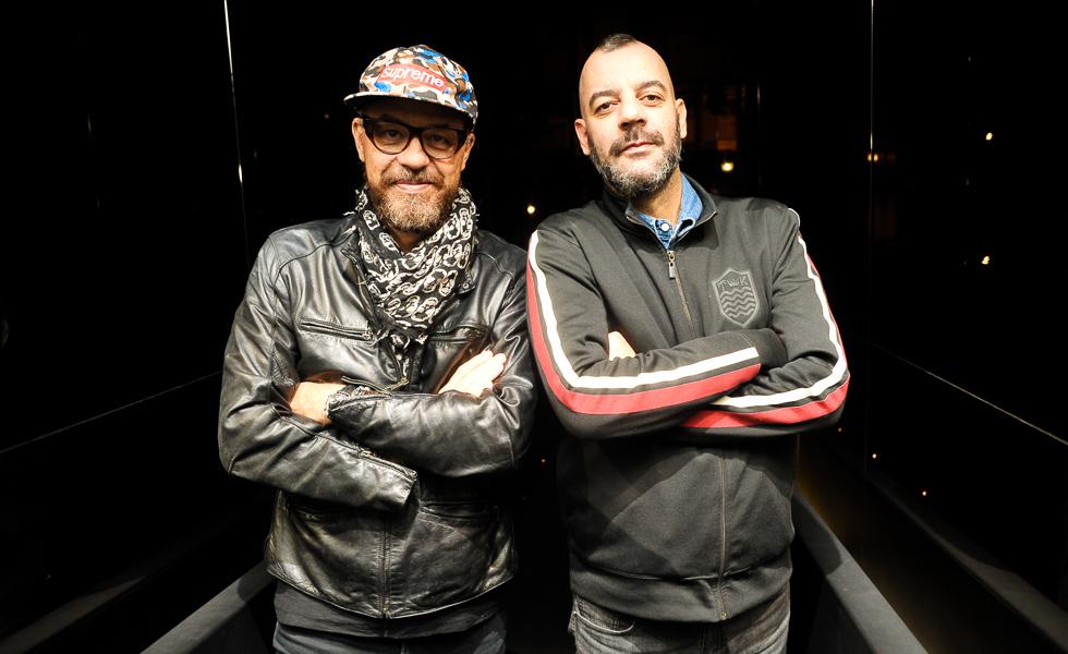 Marcos Campos e Ruy Brisolla