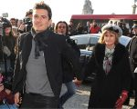 Orlando Bloom com a mãe, Sonia Bloom