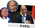 Trump, Putin e Infantino