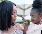 Rihanna com a sobrinha, Majesty