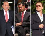 Slim Helú, Peña Nieto e DiCaprio