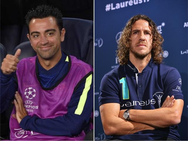 Xavi Hernández e Carles Puyol || Créditos: Getty Images