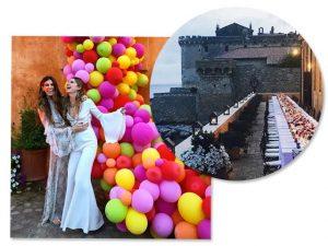 Bianca Brandolini comemora 30 anos com festa para poucos e bons na Itália