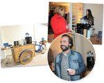 Coletivo Glamurama teve bike do Café Santa Monica