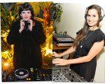 As DJs Clara Ribeiro e Luisa Viscardi vão comandar o som do Coletivo Glamurama