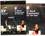 Kate Winslet durante EY World Entrepreneur Of The Year, em Mônaco