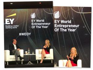 Kate Winslet durante EY World Entrepreneur Of The Year, em Mônaco