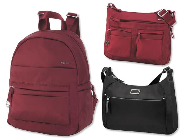 Samsonite abre o leque e lança bolsas e mochilas para o dia a dia