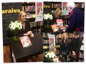 Patrícia Kogut recebe Jô Soares e mais em noite de autógrafos de seu livro