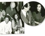 Caetano Veloso, Zozimo e Lucia Veríssimo mais Paulo Fernando Marcondes Ferraz com Gal Costa