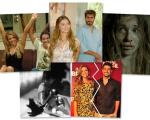 """Dois registros de Grazi Massafera no BBB, ela com Thiago Lacerda em """"Páginas da Vida"""", em cena de """"Verdades Secretas"""", com a filha, Sofia, e com o ex, Cauã Reymond"""