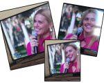 Carolina Dieckmann se emociona no Vídeo Show desta terça-feira