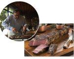 Belarmino Iglesias Filho e o Steak 60, novo corte do Rubaiyat, que homenageia os 60 anos do grupo