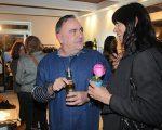 Vic Meirelles e Elisa Stecca no Coletivo Glamurama