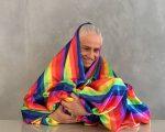O clique de Vera Holtz celebrando o Dia do Orgulho LGBTI