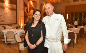 Restaurante Cantaloup arma jantar especial com o casal Lilian e Michel Scheidler