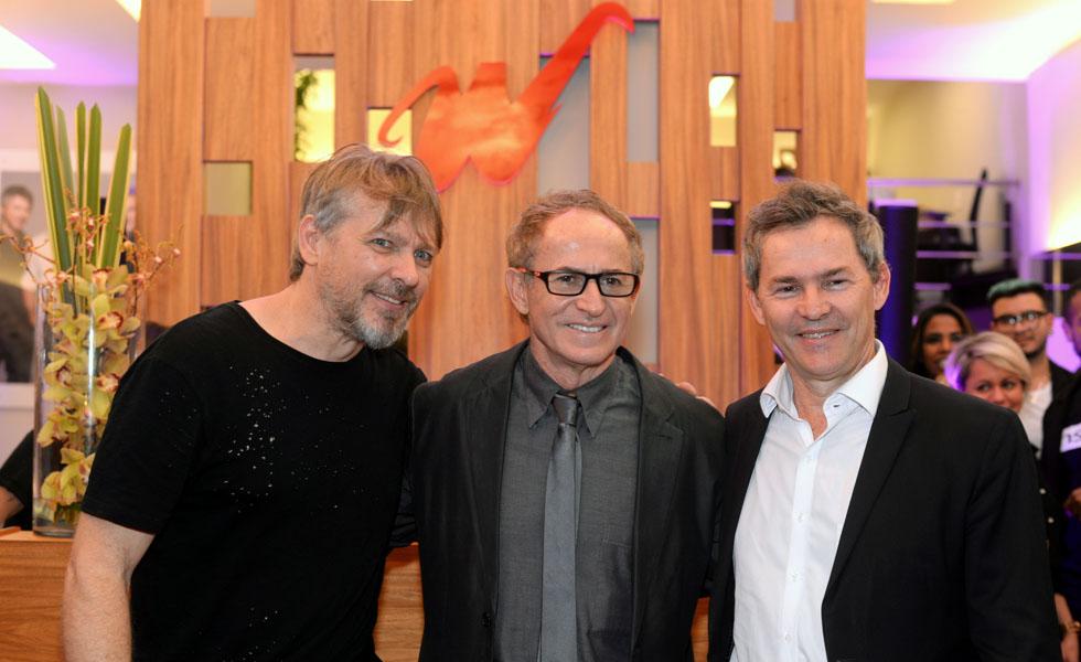 Sergio, Rudi e Lauri Werner
