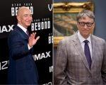 Jeff Bezos e Bill Gates