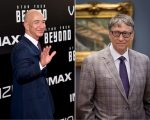 Jeff Bezos e Bill Gates