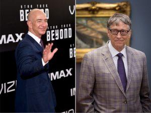 """Faltam """"apenas"""" US$ 2 bilhões para Jeff Bezos se tornar o mais rico do mundo"""