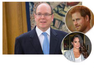 Príncipe Albert de Mônaco dá conselho amoroso para Harry e Meghan