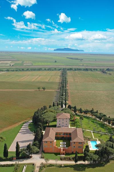 Casamento no hotel L\'Andana, na Toscana