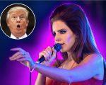 Lana Del Rey e Donald Trump
