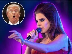 """Lana Del Rey confirma que fez """"macumba online"""" pra derrubar Trump"""