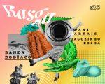 Flyer da Festa Rasga que acontece no próximo sábado no Disjuntor, na Mooca!