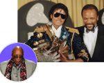 Quincy Jones com Michael Jackson
