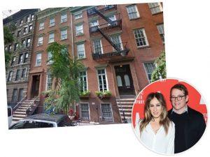Sarah Jessica Parker inicia reforma para unir duas townhouses em NY