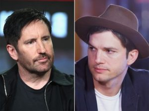 """Vocalista do Nine Inch Nails acha que Ashton Kutcher é um """"babaca"""". Oi?"""