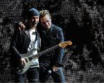 The Edge e Bono Vox, do U2