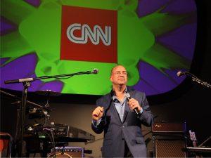 Chefe da CNN estava no cinema quando soube do polêmico tweet de Trump