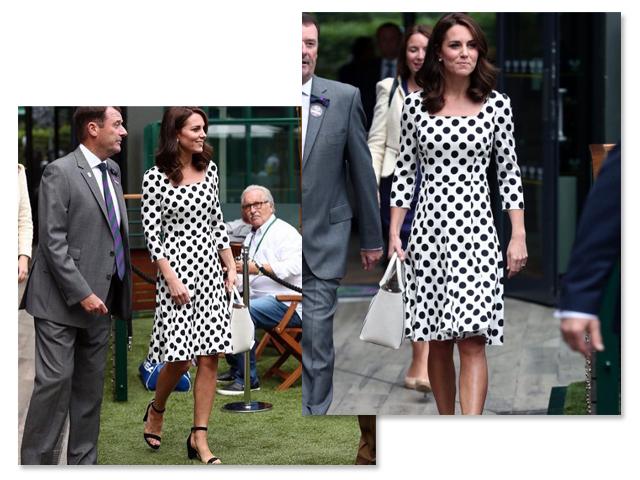 Kate Middleton aparece com novo look na abertura de Wimbledon e rouba a cena