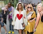 Katy Perry e Pharrell Williams, Olivia Palermo, Céline Dion e Karlie Kloss