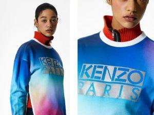 Desejo do Dia: brilhar um pouco mais com o moletom Aurora Boreal da Kenzo