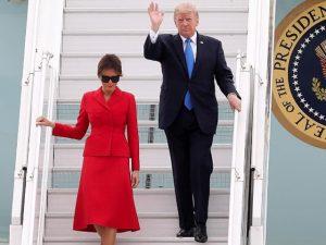 Melania Trump chega em Paris e Glamurama conta detalhes do tour e dos looks!
