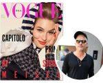 """A edição de julho da """"Vogue"""" Itália marca a estreia de Giovanni Bianco nas páginas da revista como diretor criativo"""