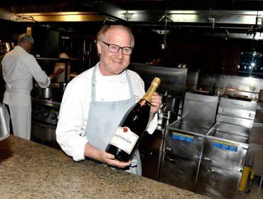 Jantar do projeto A mesa dos Chefs com o francês Marc Meurin