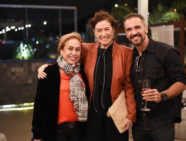 De Malu Mader a Lilia Cabral no aniversário de Martha Medeiros no Rio