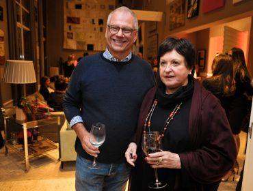Jantar chez Carolina Holzer Zagottis em comemoração à Semana de Arte