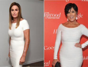 Efeito fashion police! Caitlyn Jenner usa vestido quase igual ao da ex Kris Jenner