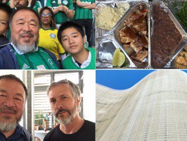 O rolê artsy e cheio de brasilidades do artista chinês Ai Weiwei por São Paulo