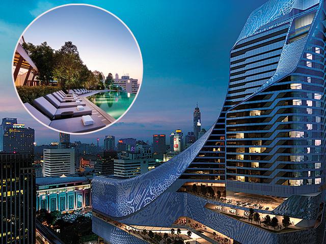O Park Hyatt é o novo hotel que faz justiça ao skyline de Bangcoc. Vem ver!