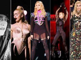 A linha do tempo do estilo de Madonna no dia em que a musa completa 59 anos