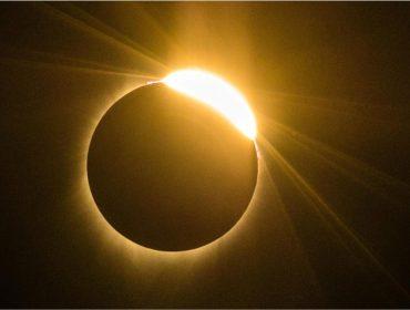 O Eclipse Solar total visto nos EUA